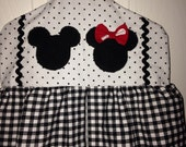 Mickey and Minnie diaper stacker