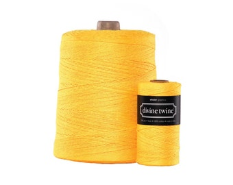 NEW** Solid Yellow Divine Twine X