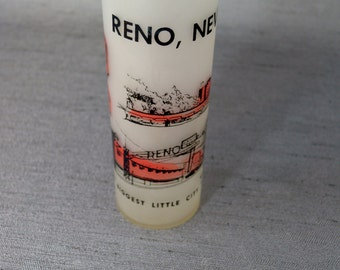Cool 60's Reno Souvenir Glass