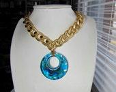 Golden Skies Necklace