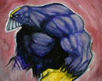 Quick painting: The Maxx