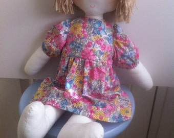 Toy Rag Doll Sewing Pattern
