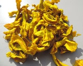 Fluro Yellow Silk Carrier Rods 12 Of Them Papermaking, Spinning Felting Craft Projects