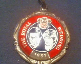 The Royal wedding Charles & Diana 1981 Medal, Pendant Collectible