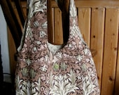 William Morris Snakeshead bag  - vintage fabric,  proceeds to charity