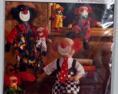 BURDA clown pattern sewing 3 sizes pattern NEW sealed clothes made in Germany Europe DIY happy