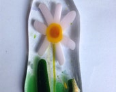 Fused glass wearable art pendant fashion accessories