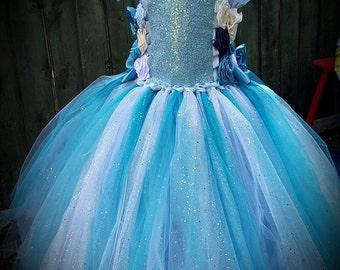 Traveller Sparkle romany gypsy tutu tulle dress