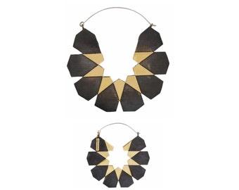 Moroccan Hoops - Big Hoop Earrings 2 Sizes