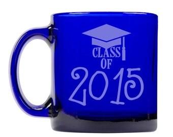 Colbalt Blue Coffee Mug 13oz -9288 Class of 2015