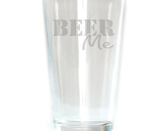 Pub Glass - 16oz - 6174 Beer Me