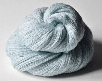 Icy mist OOAK - Merino/Silk/Cashmere Fine Lace Yarn