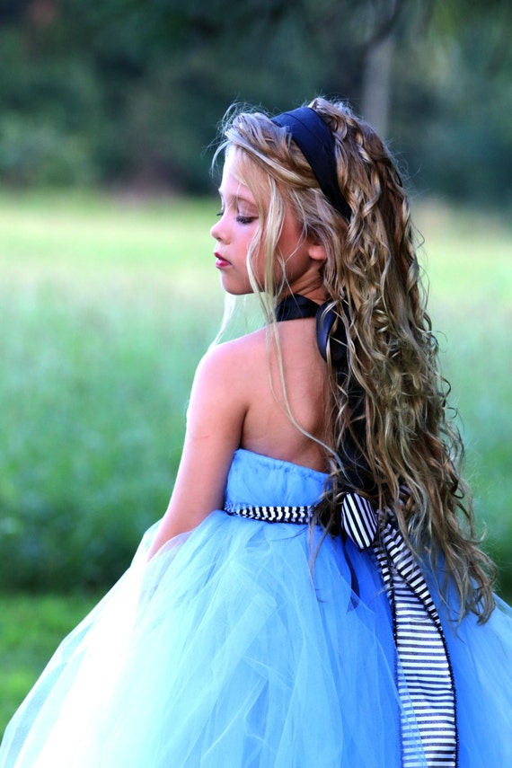 Halloween Costume for Child - Wonderland Tutu Dress by Atutudes