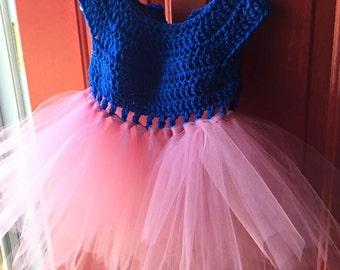 Crochet Tutu Dress 3T-4T