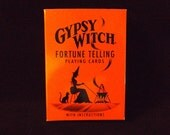 Gypsy Fortune Telling Playing Cards - tarot deck, tarot cards, Wiccan, Wicca, cartomancy, divination
