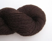 Sport Weight Cashmere Recycled Yarn, Dark Chocolate Brown, Lot 040616