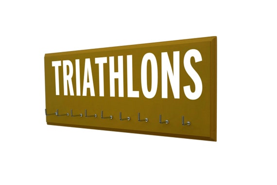 Triathlon medal display - Proudly Display your Life Achievements