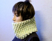 Knit Infinity Scarf Loop Scarf Circle Scarf Cowl  Scarf neck warmer circle scarf gifts for women gifts Wife gift girlfriend gift