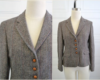1980s Lady Bowdon Tweed Jacket