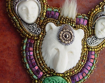 Bear Goddess Necklace