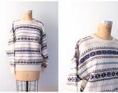 men's Scottish shetland wool sweater - Scotland / Fair Isle - preppy boyfriend / vintage 80s - 1980s trad