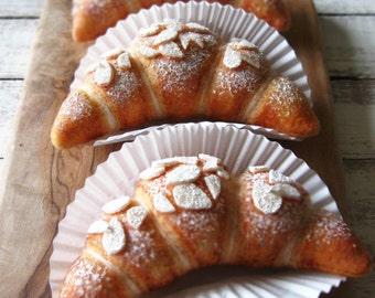Felt Food Almond Croissant