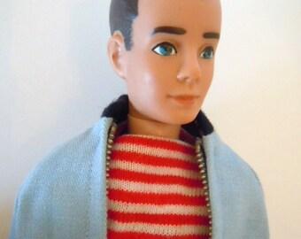 Ken Doll Yachtsman Outfit Original Swimsuit Jacket Sandals Transistion Ken