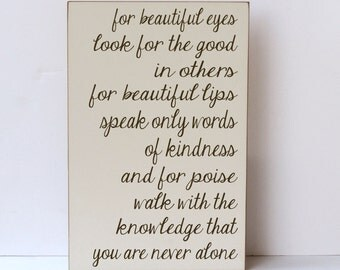 Inspirational Wood Sign Audrey Hepburn Quotes Wall Art Gift For Her Wooden  Signs With Sayings Wood