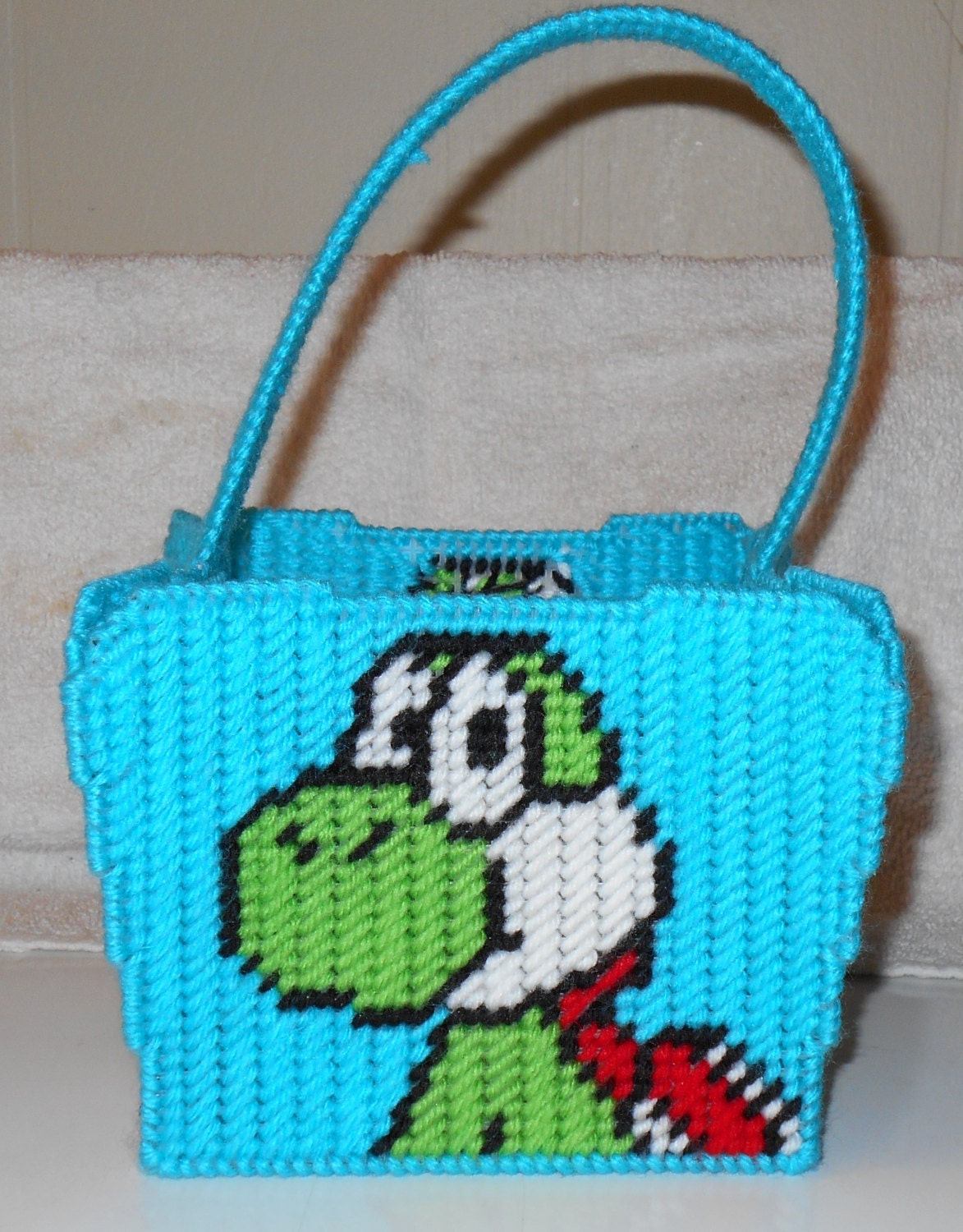 Yoshi Easter Basket Plastic Canvas Pattern from ... - photo#15