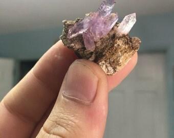 Veracruz Amethyst Crystal Point Cluster