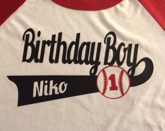 Baseball Birthday Shirts Birthday shirt for entire family, Family Baseball Shirts Personalized, Customized This listing is for ONE shirt