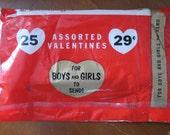 Vintage Valentine Cards.