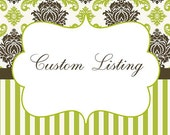 custom listing for melissamcoppola