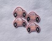CAR FELT EMBELLISHMENT - Machine Embroidered Felt / Applique ~ Ready To Ship ~ Available Cut Or Uncut