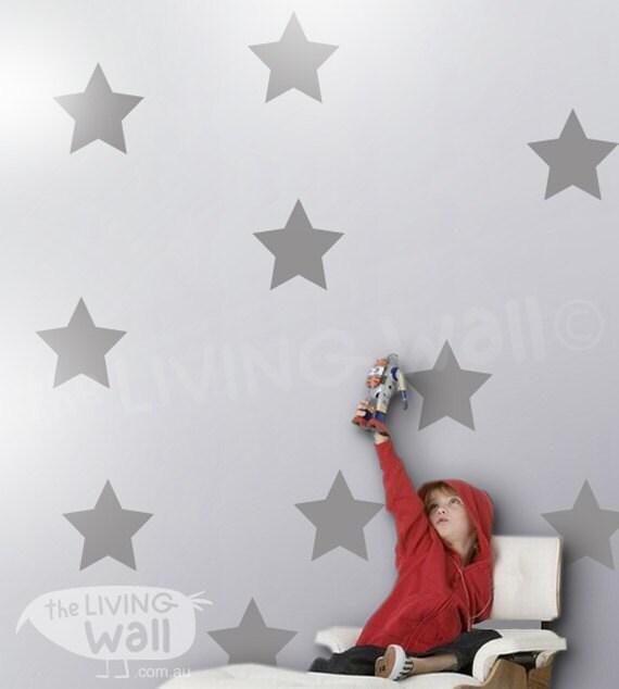 big stars wall stickers star wall decals gold nursery wall decor
