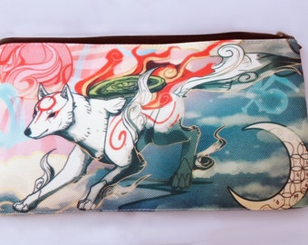 Okami Amaterasu Pencil/Makeup Bag