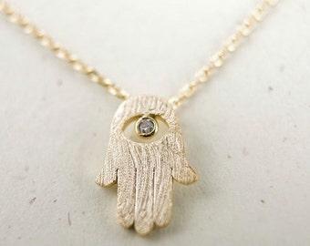 Handmade Hamsa Necklace