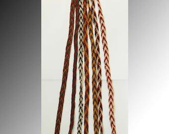 Uzbek wool handmade nomads yurt  cords pendant