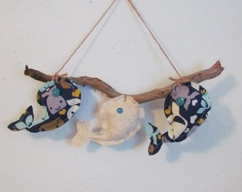 Whale Wall Hanging