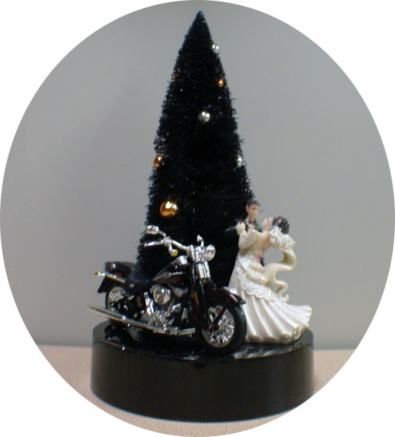 halloween wedding cake toppers wedding cake topper groom top w harley davidson 4674