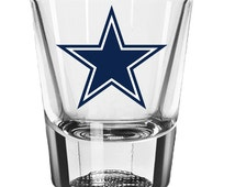 Dallas Cowboys Shot Glass, Football Gifts, Texas, Wedding, Groomsmen ...