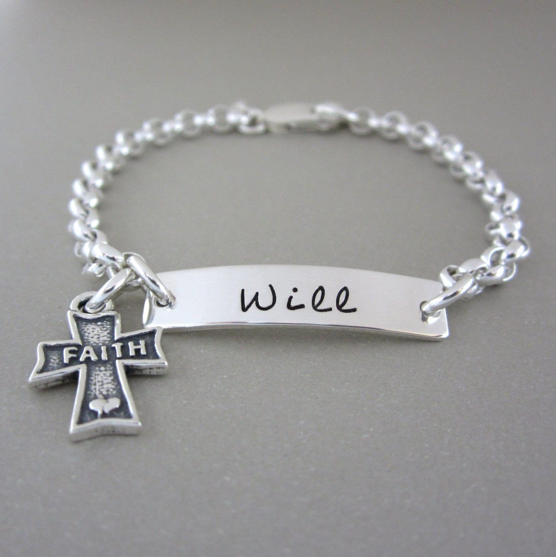 Baby Charm Bracelets: Jewelry Boy Bracelet Baby Bracelet Personalized By ShinyMetals