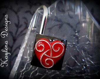 BDSM Symbol, Fetish Padlock, Working Lock, Mini  Lock ,