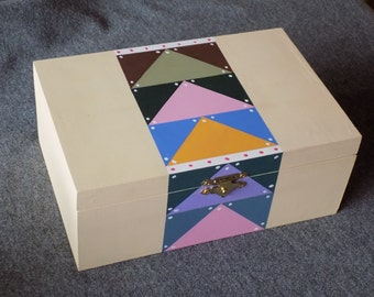 Flying Geese Quilt Themed Box