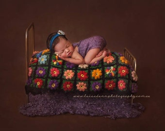 Newborn Photo Prop Bed Retro Style Photography Prop