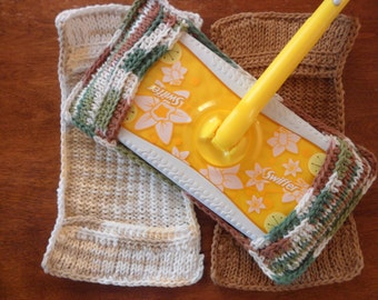 Set of 3 Eco Friendly Cotton Swiffer Covers