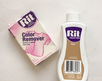 Rit Dye, Tan, Color Remover