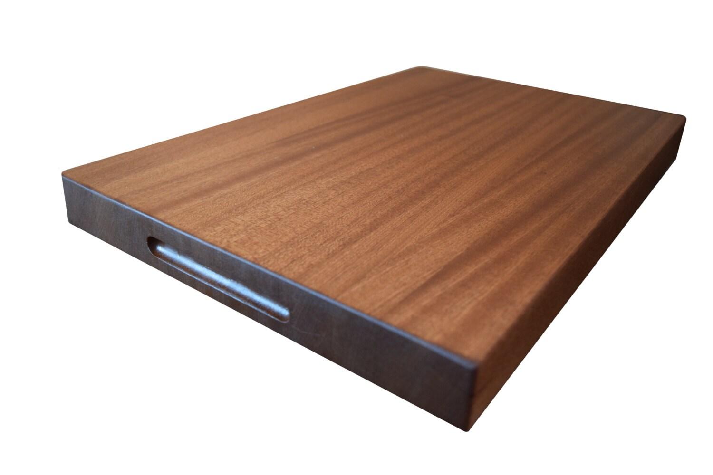sapele edge grain cutting board from jonescuttingboards free. Black Bedroom Furniture Sets. Home Design Ideas