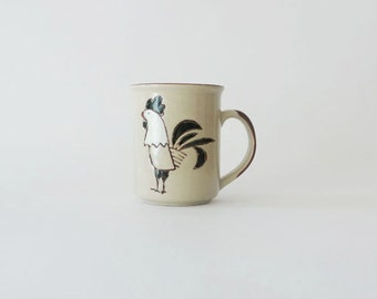 Vintage Rooster Mug