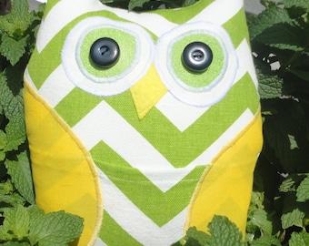 Pocket Owl, Owl Tooth Fairy Pillow